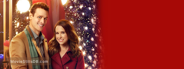 The Sweetest Christmas.The Sweetest Christmas Promotional Art With Lacey Chabert