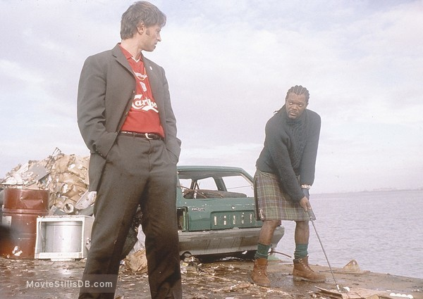 The 51st State - Publicity still of Samuel L. Jackson & Robert Carlyle