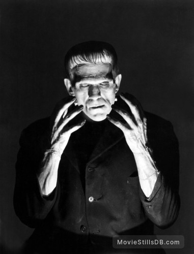 Frankenstein - Publicity still of Boris Karloff