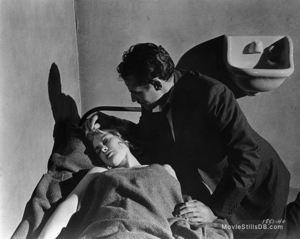 Touch of Evil - Publicity still of Charlton Heston & Janet Leigh