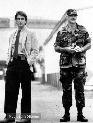 The Presidio - Publicity still of Mark Harmon & Sean Connery