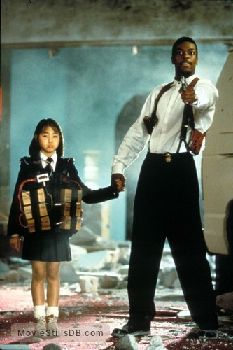Rush Hour - Publicity still of Chris Tucker & Julia Hsu