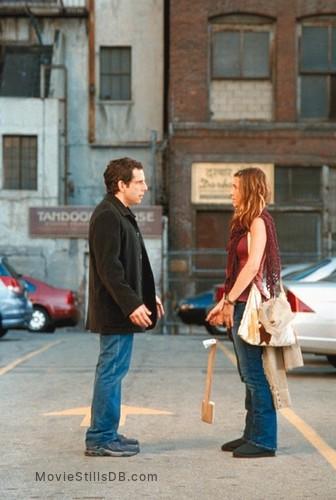Along Came Polly Publicity Still Of Jennifer Aniston Ben Stiller