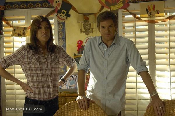 Dexter - Publicity still of Michael C. Hall & Jennifer Carpenter