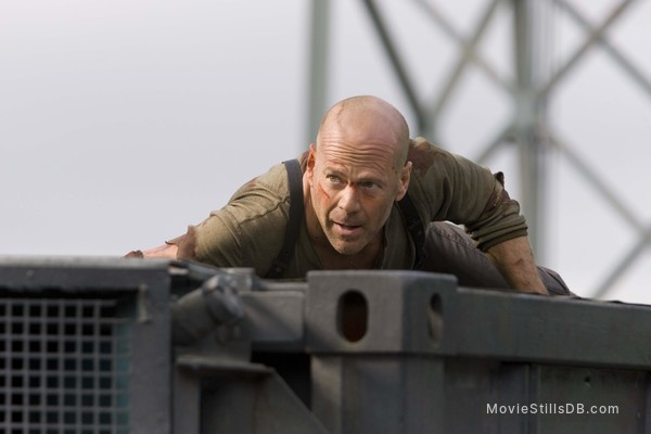 Live Free or Die Hard - Publicity still of Bruce Willis
