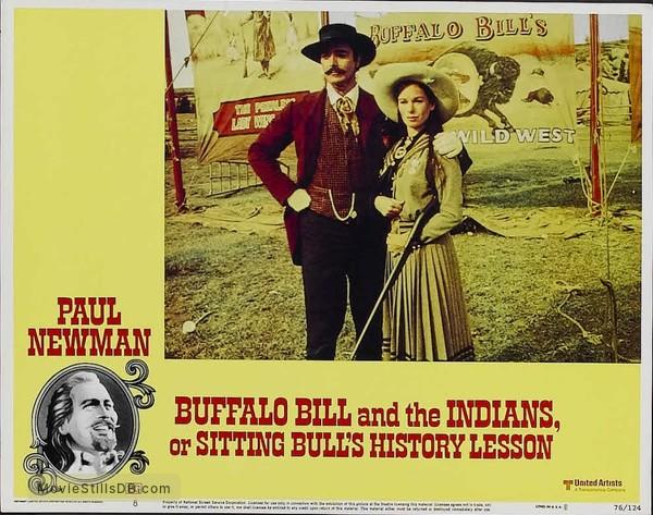 Buffalo Bill and the Indians, or Sitting Bull's History Lesson - Lobby card with Geraldine Chaplin & John Considine