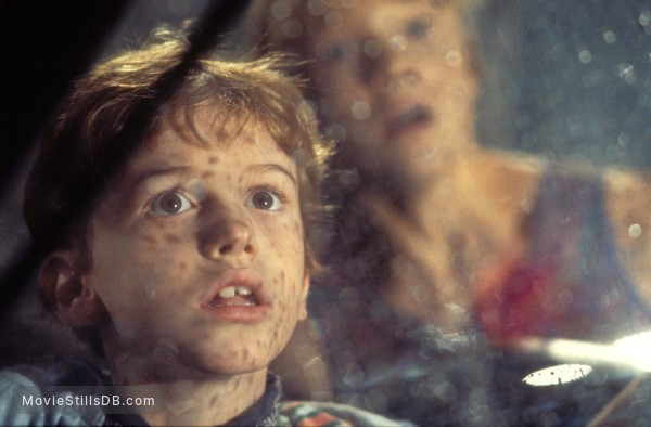 Jurassic Park - Publicity still of Joseph Mazzello & Ariana Richards