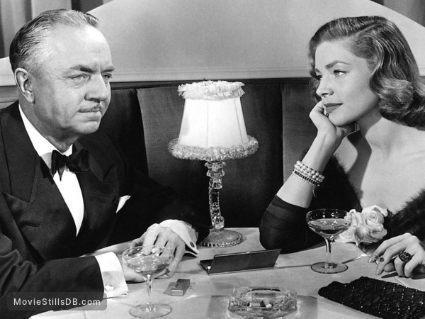 How to Marry a Millionaire - Publicity still of Lauren Bacall & William Powell