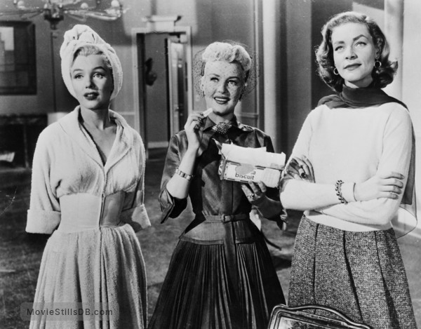 How to Marry a Millionaire - Publicity still of Marilyn Monroe, Lauren Bacall & Betty Grable