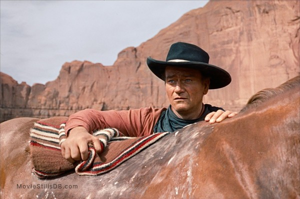 The Searchers - Publicity still of John Wayne