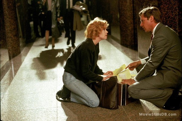 Working Girl - Publicity still of Harrison Ford & Melanie Griffith