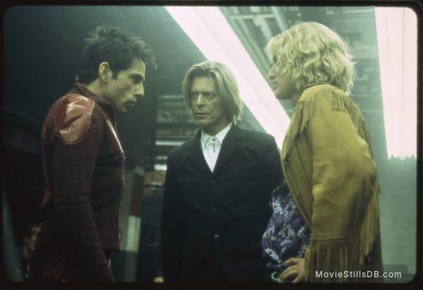 Zoolander - Publicity still of Ben Stiller, David Bowie & Owen Wilson