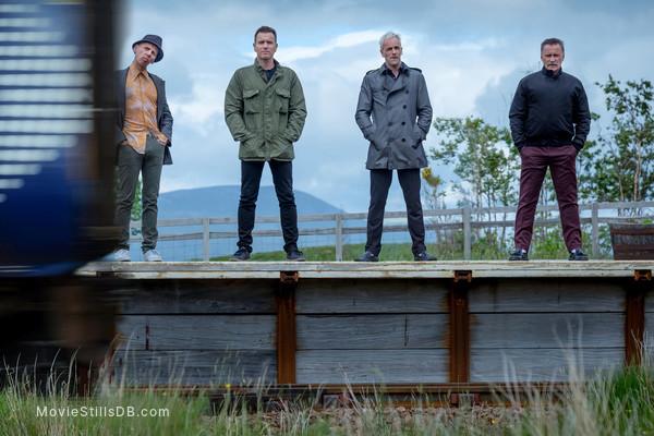T2: Trainspotting - Publicity still of Ewan McGregor, Robert Carlyle, Jonny Lee Miller & Ewen Bremner