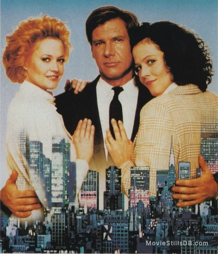 Working Girl - Promotional art with Harrison Ford, Melanie Griffith & Sigourney Weaver