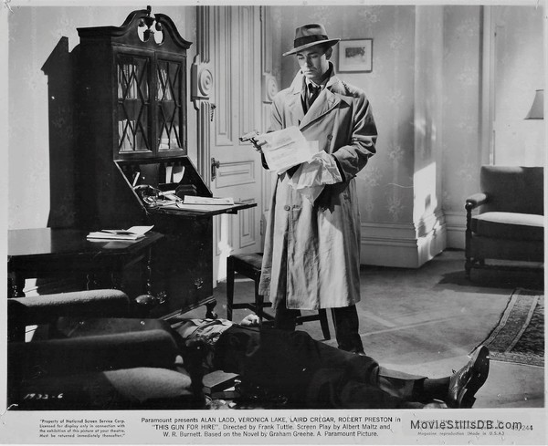 This Gun for Hire - Publicity still of Alan Ladd