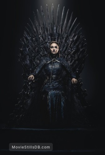 Game of Thrones - Promotional art with Sophie Turner