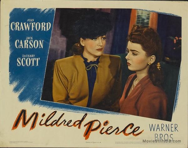 Mildred Pierce - Lobby card with Joan Crawford & Ann Blyth