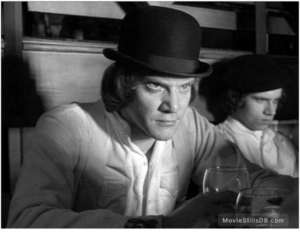 A Clockwork Orange - Publicity still of Malcolm McDowell