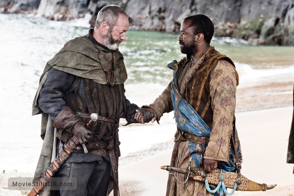Game of Thrones - Publicity still of Liam Cunningham & Lucian Msamati
