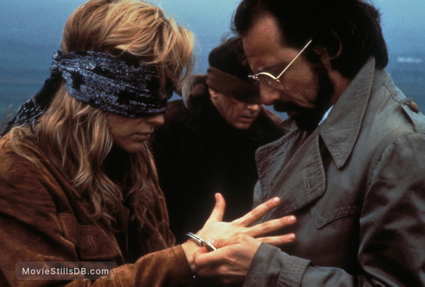 Year of the Gun - Publicity still of Sharon Stone, Andrew McCarthy & John Pankow