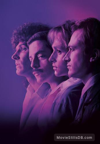 Bohemian Rhapsody - Promotional art with Gwilym Lee, Rami Malek, Ben Hardy & Joseph Mazzello