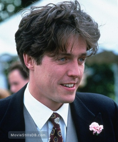 Four Weddings and a Funeral - Publicity still of Hugh Grant
