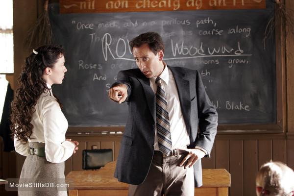 The Wicker Man - Publicity still of Molly Parker & Nicolas Cage