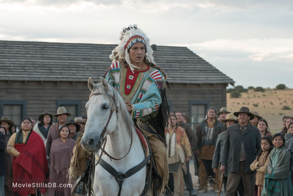 Woman Walks Ahead - Publicity still of Michael Greyeyes