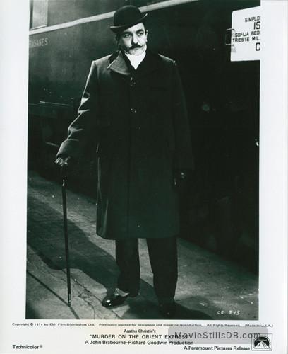 Murder on the Orient Express - Publicity still of Albert Finney