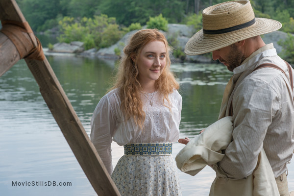 The Seagull - Publicity still of Corey Stoll & Saoirse Ronan