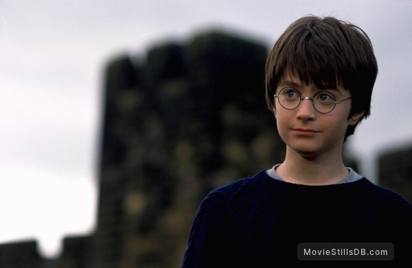 Harry Potter and the Sorcerer's Stone - Publicity still of Daniel Radcliffe