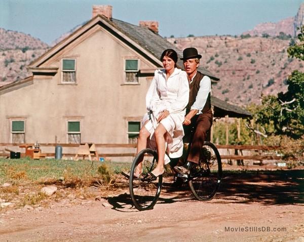 Butch Cassidy and the Sundance Kid - Publicity still of Paul Newman & Katharine Ross