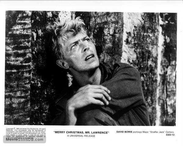 Merry Christmas Mr Lawrence.Merry Christmas Mr Lawrence Publicity Still Of David Bowie