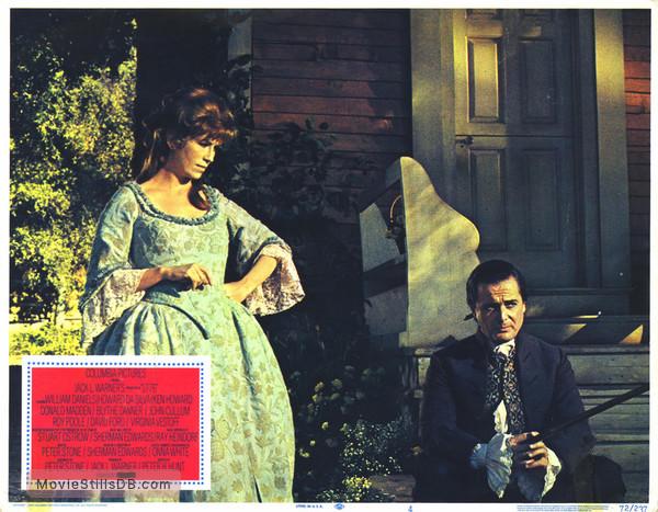 1776 - Lobby card with William Daniels & Virginia Vestoff