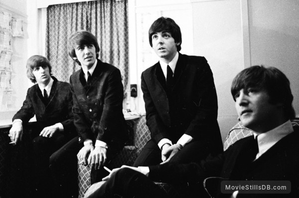 The Beatles: Eight Days a Week - The Touring Years - Publicity still of Paul McCartney, Ringo Starr, John Lennon & George Harrison