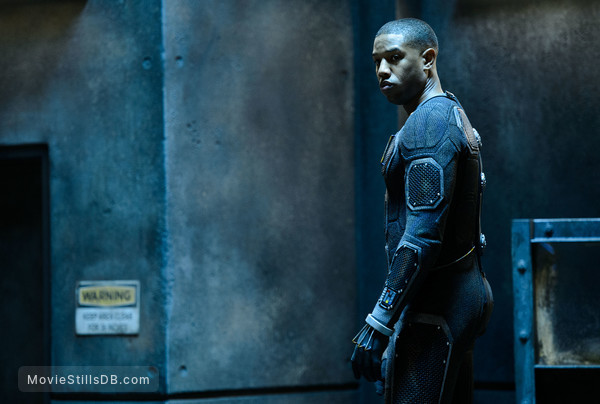 Fantastic Four - Publicity still of Michael B. Jordan