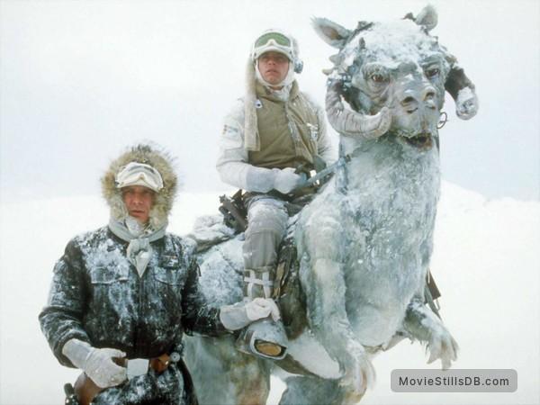 Star Wars: Episode V - The Empire Strikes Back - Publicity still of Mark Hamill & Harrison Ford