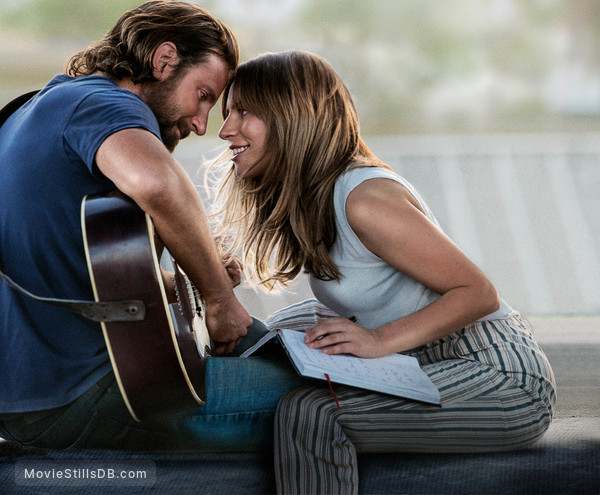 A Star Is Born - Publicity still of Bradley Cooper & Lady Gaga