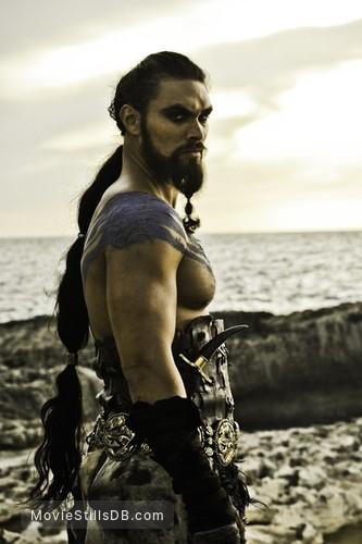 Game of Thrones - Publicity still of Jason Momoa