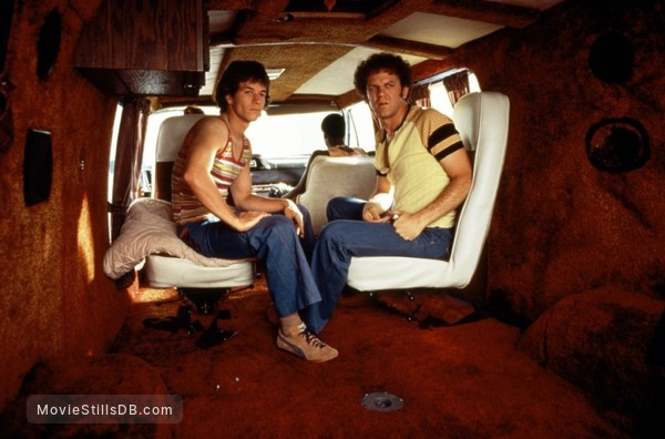 Boogie Nights - Publicity still of John C. Reilly & Mark Wahlberg