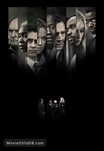 Widows - Promotional art with Robert Duvall, Liam Neeson, Viola Davis, Colin Farrell, Michelle Rodriguez, Daniel Kaluuya, Brian Tyree Henry, Elizabeth Debicki & Cynthia Erivo