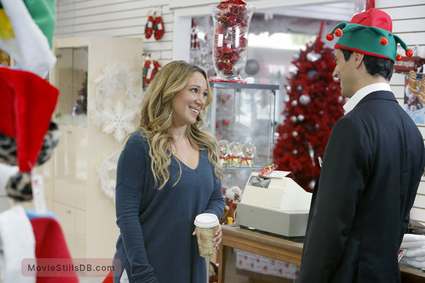 31c9581b3c4fc Hats Off to Christmas! - Publicity still of Haylie Duff   Antonio Cupo