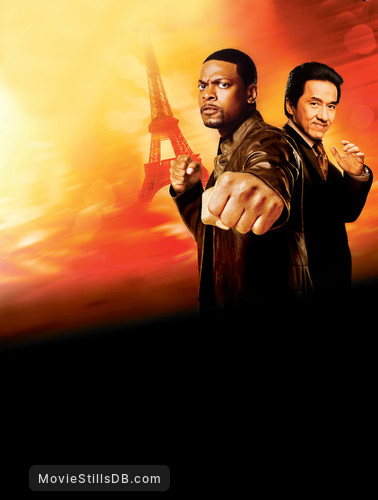 Rush Hour 3 - Promotional art with Jackie Chan & Chris Tucker