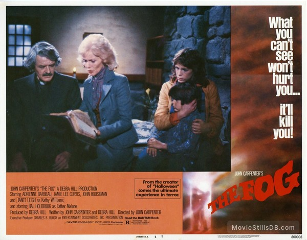 The Fog - Lobby card with Jamie Lee Curtis, Janet Leigh, Hal Holbrook & Ty Mitchell