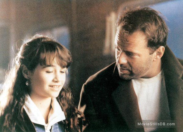 The Last Boy Scout - Publicity still of Bruce Willis & Danielle Harris