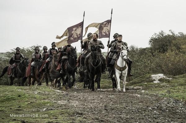 Game of Thrones - Publicity still of Nikolaj Coster-Waldau & Jerome Flynn