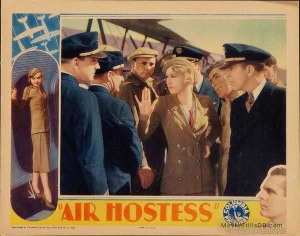 Air Hostess - Lobby card