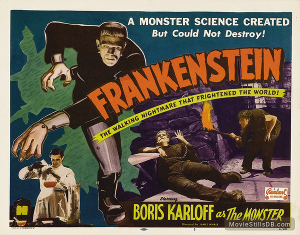 Frankenstein - Lobby card