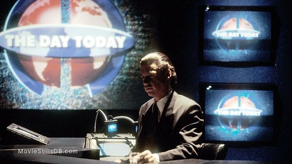 The Day Today - Publicity still of Chris Morris