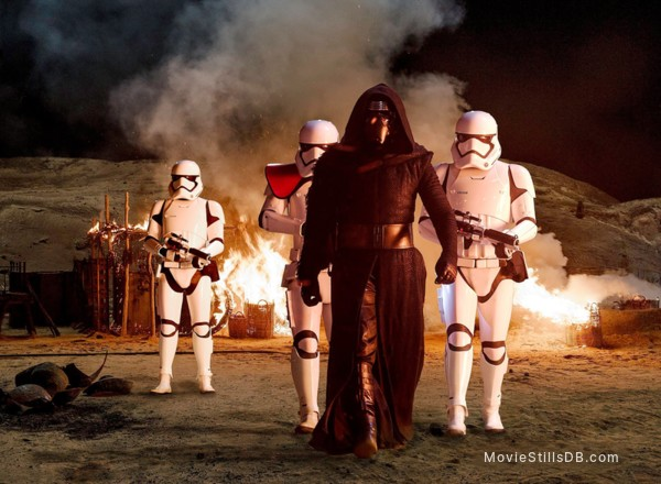 Star Wars: The Force Awakens - Publicity still of Adam Driver
